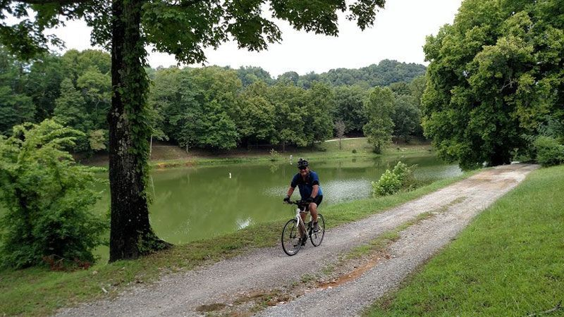 Biker-at-New-Lake