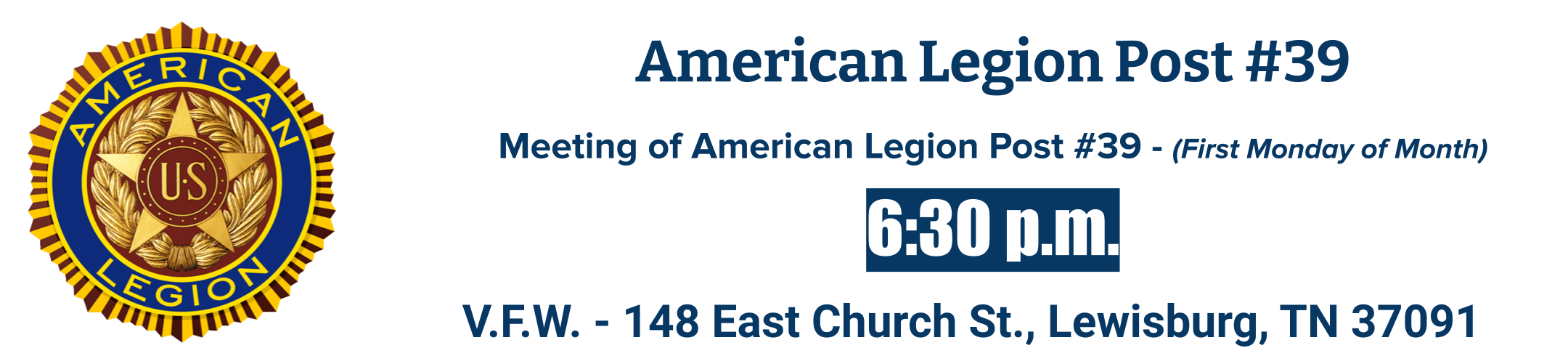 American Legion 39 Meetings
