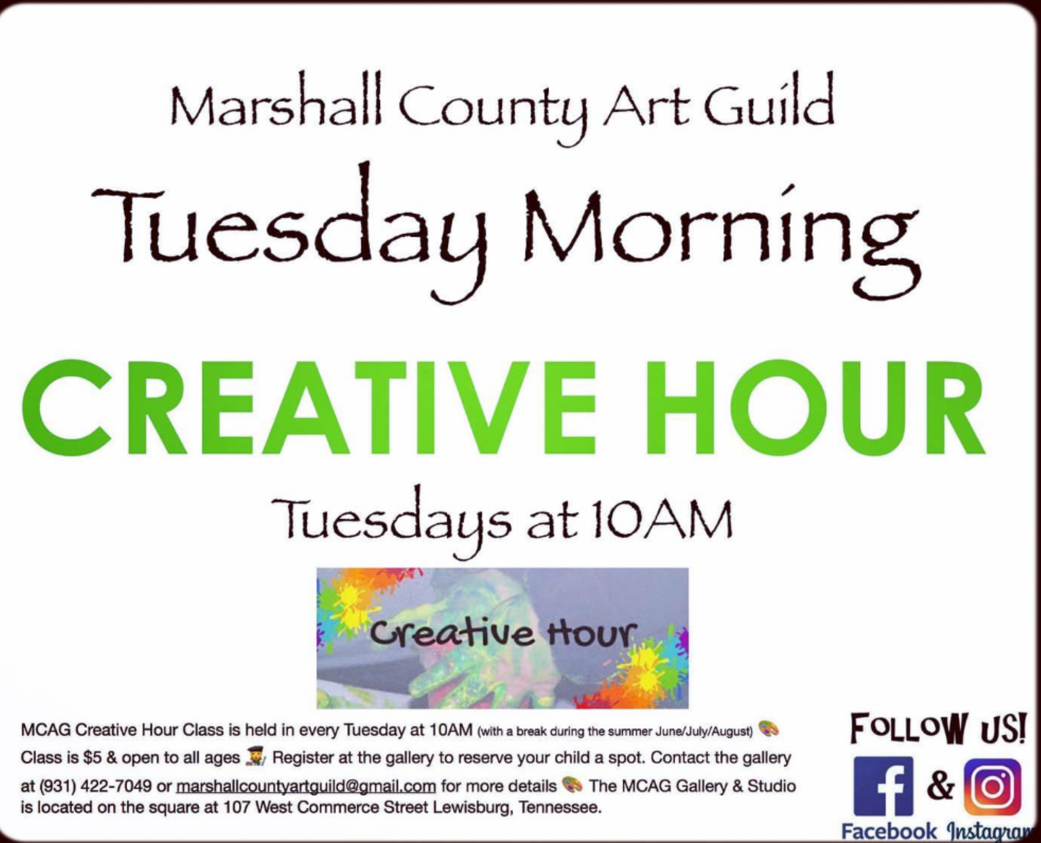 Art Guild Creative Hour