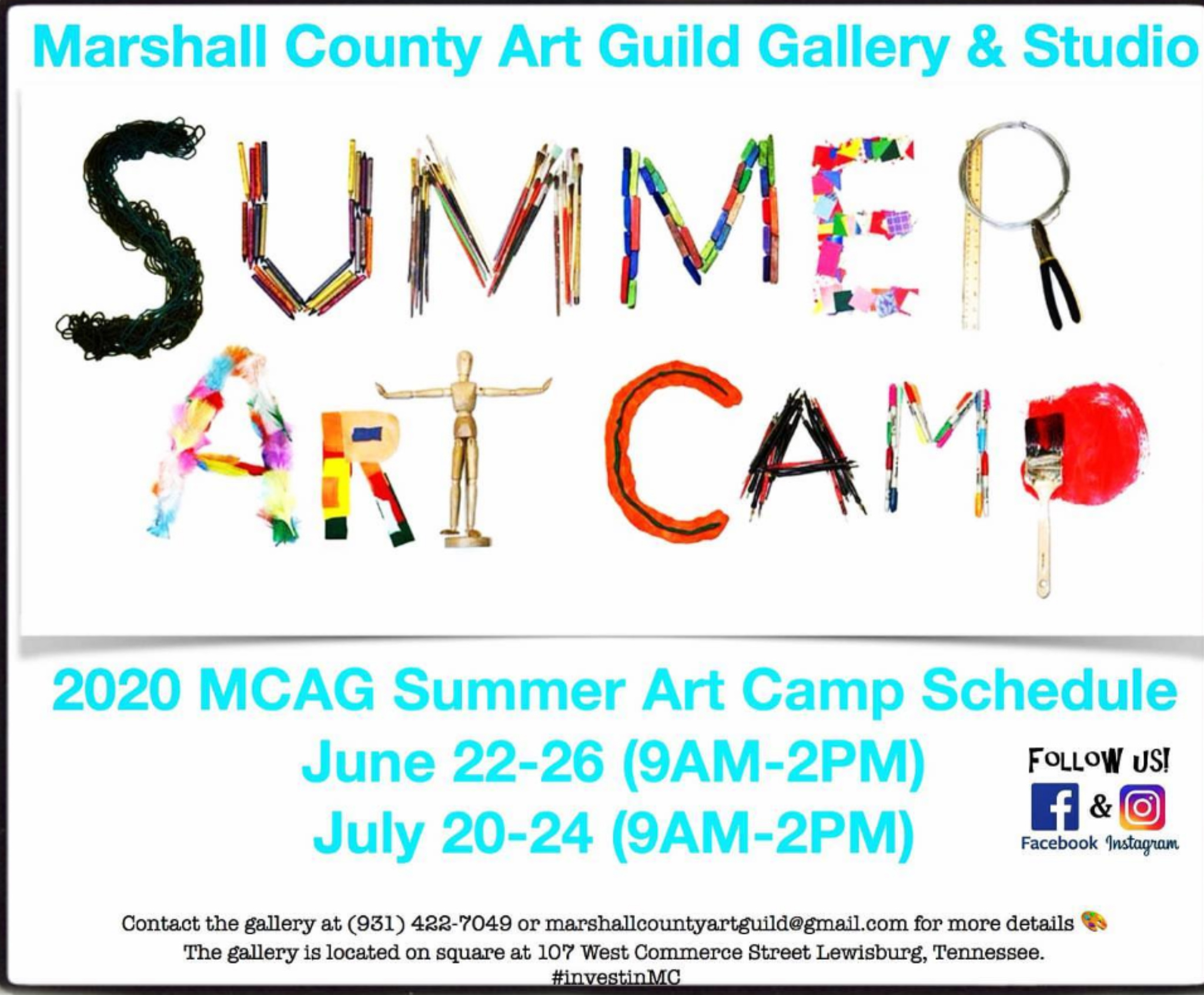 Art Guild Summer Camp