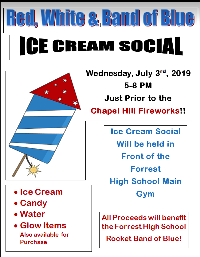 Band of Blue Ice Cream Social