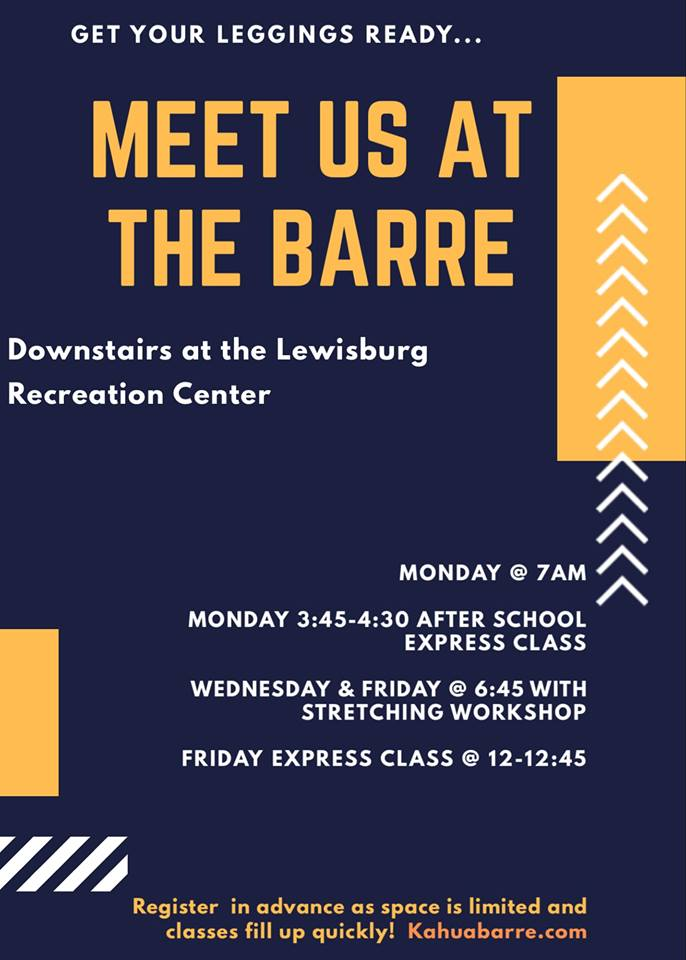 Barre Classes Updated