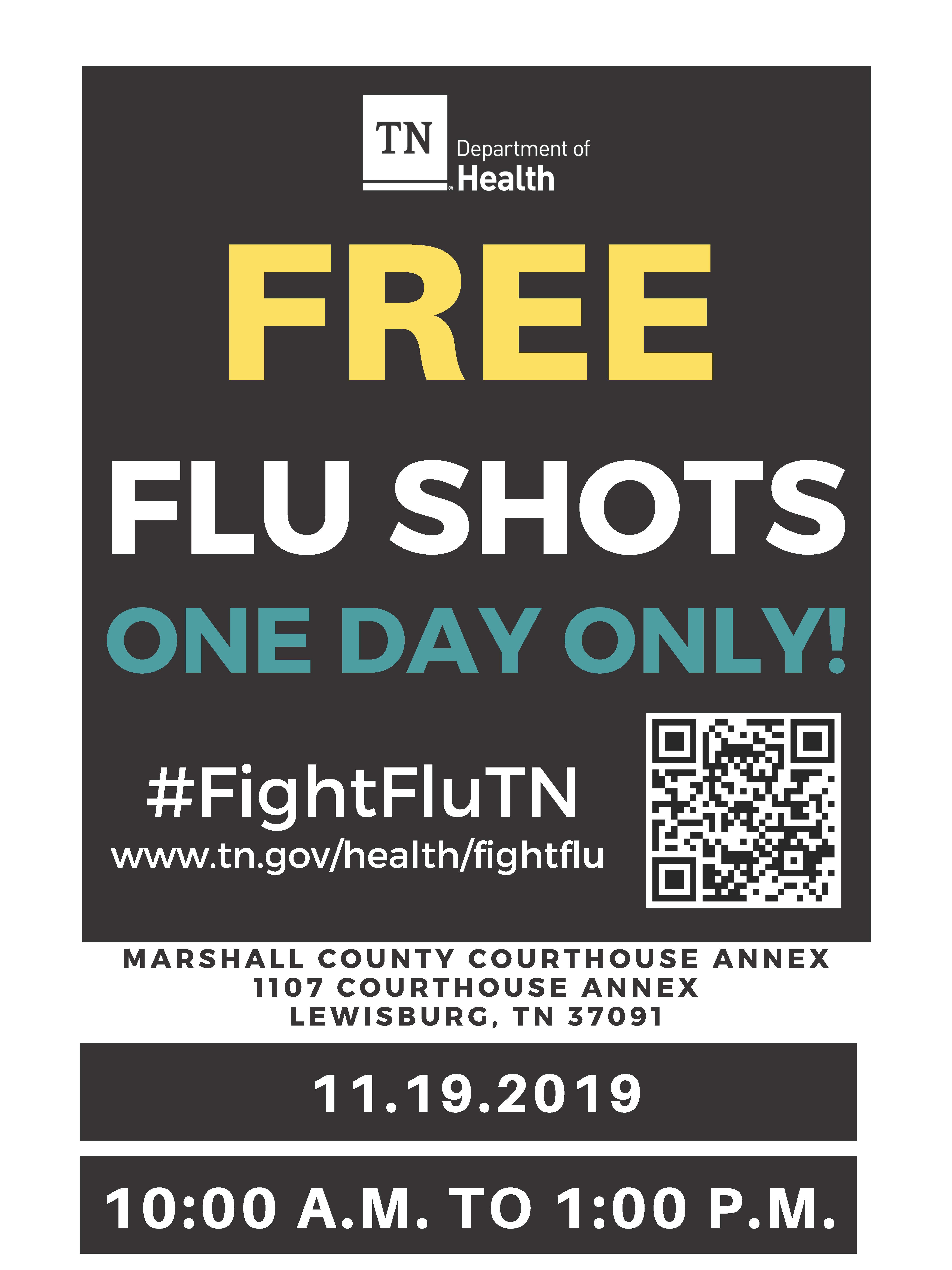 Marshall County Flu Flyer 2019