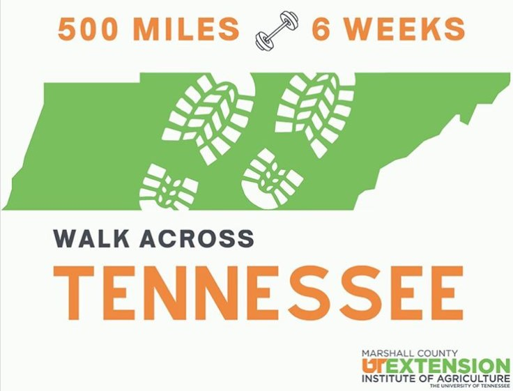 UT Extension Walk Across TN