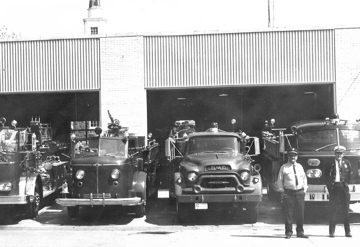 1960s - The Main Station at the Lewisburg Fire Department