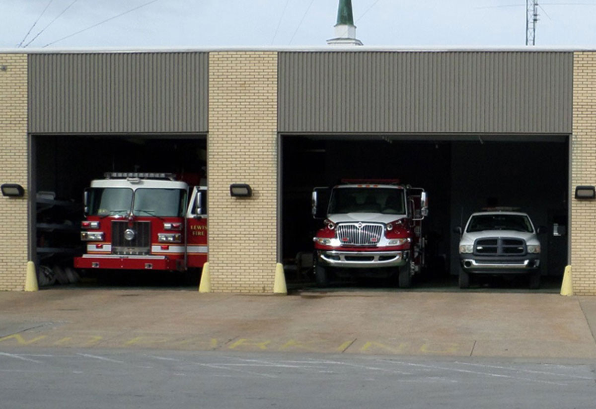 Present - The Main Station at the Lewisburg Fire Department